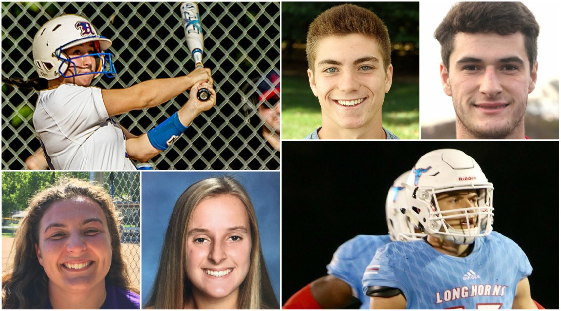 Fall 2017 Mercy Sports Medicine athletes of month