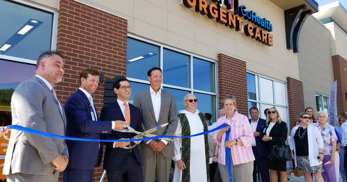 Mercy Go-Health Urgent Care STL ribbon cutting