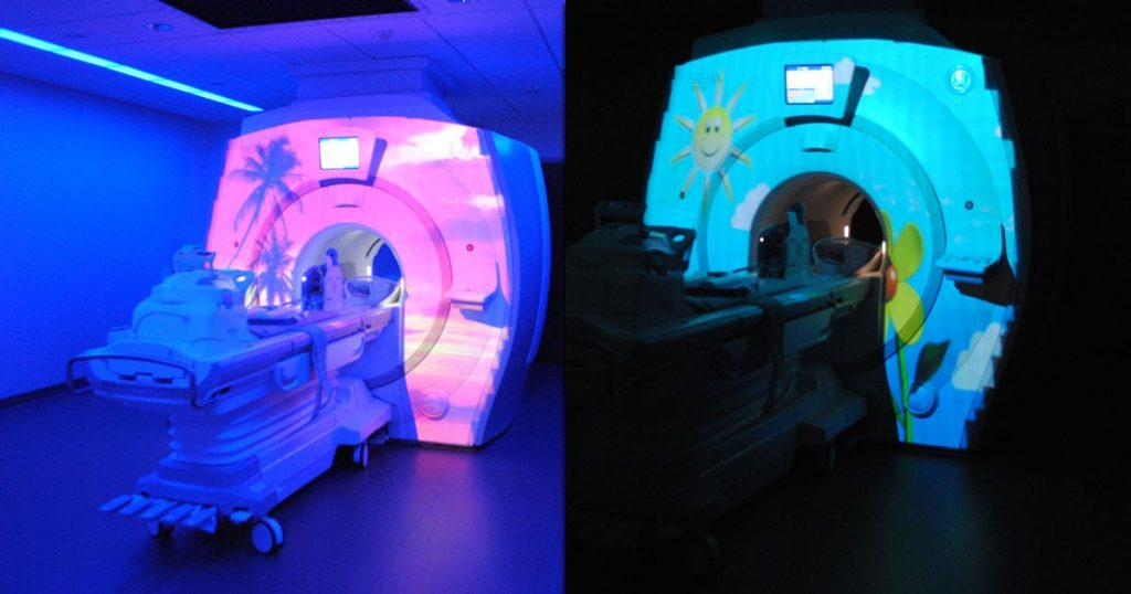 Mercy Kids Tests and Treatments MRI suite
