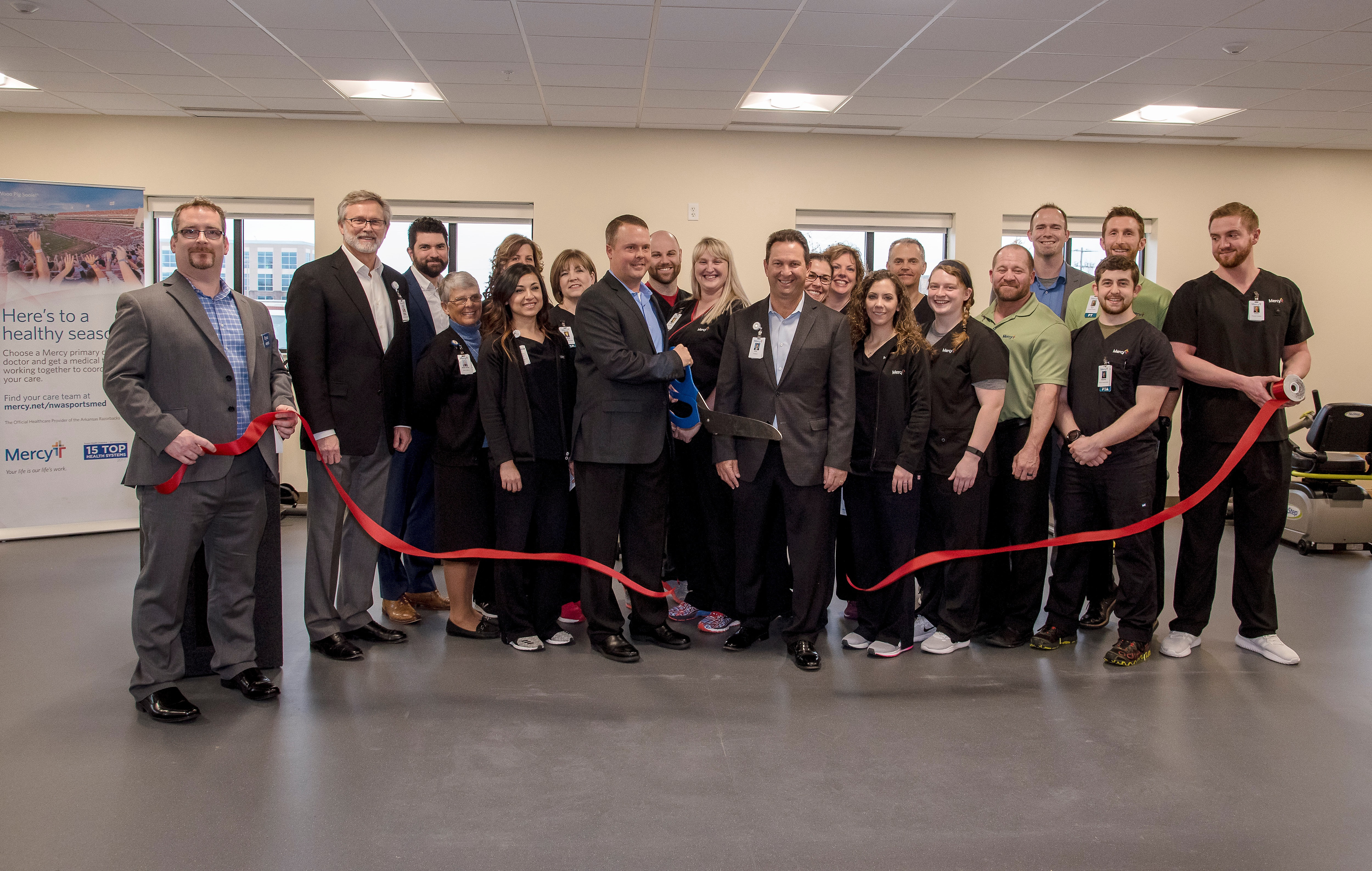 Mercy Physical Therapy >> Therapy Services Celebrates Expanded Clinic Mercy