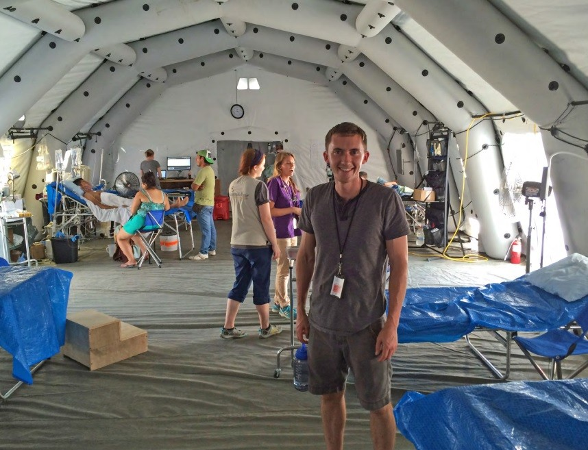 Mercy pharmacist Adam Yeargin traveled to Ecuador to aid in relief following a 7.8 magnitude earthquake.