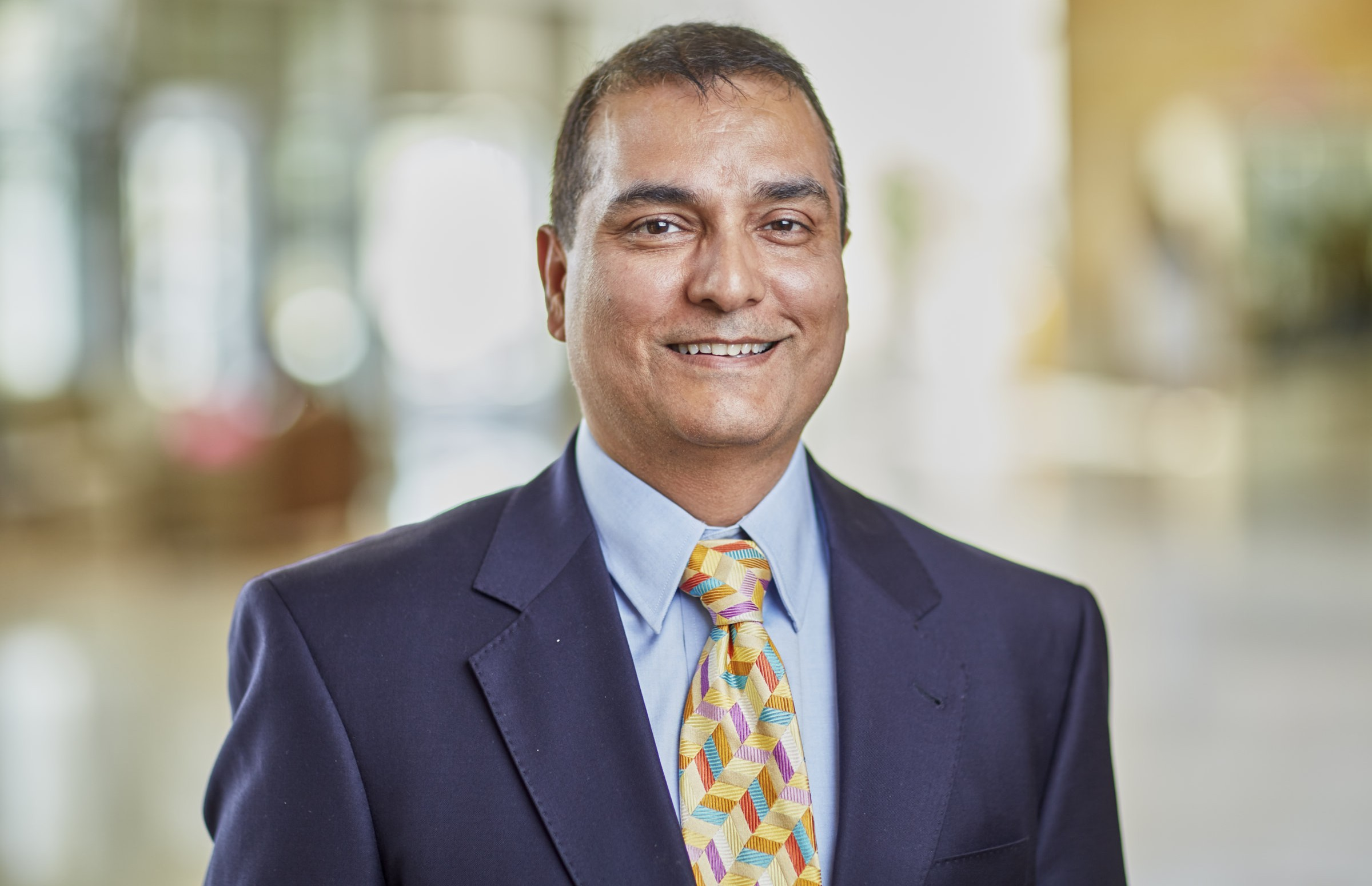 Syed Arshad, MD, medical oncologist, cares of patients at Mercy Clinic Oncology and Hematology - Anderson, in Maryville, Illinois.