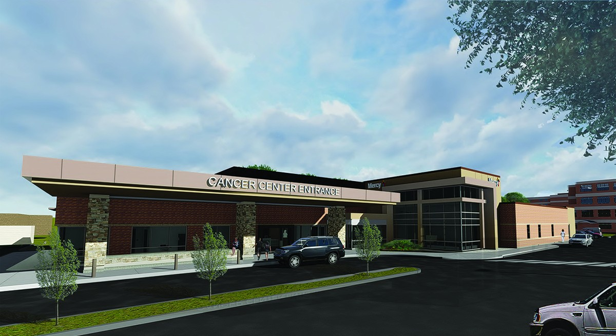 The new cancer center will be built on the former Spinning Wheels Skate Center property.