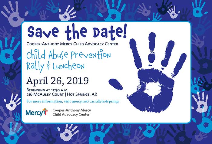 Child Abuse Prevention Rally & Luncheon 4-26-2019