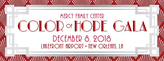 Mercy Family Center Color of Hope Gala 12-8-2018