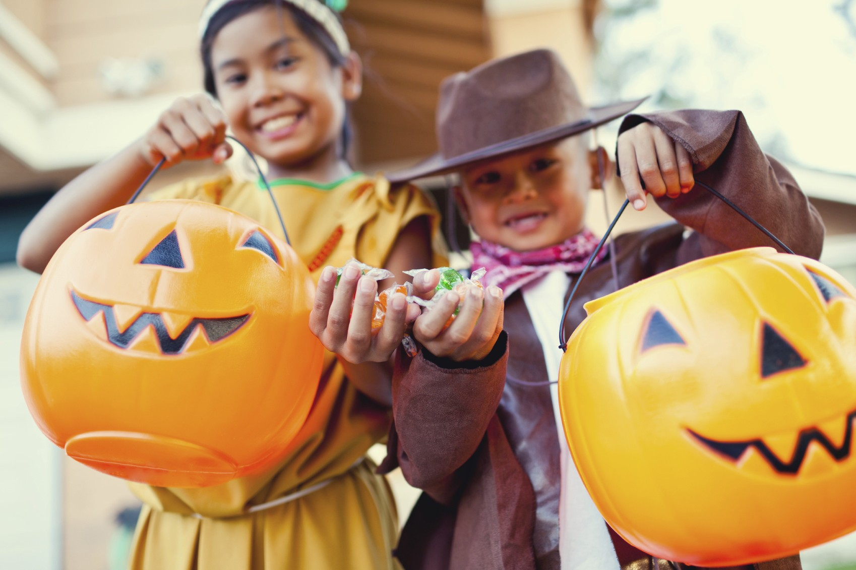 Last year, an estimated 41.2 million U.S. children aged 5 to 14 participated in trick-or-treating.