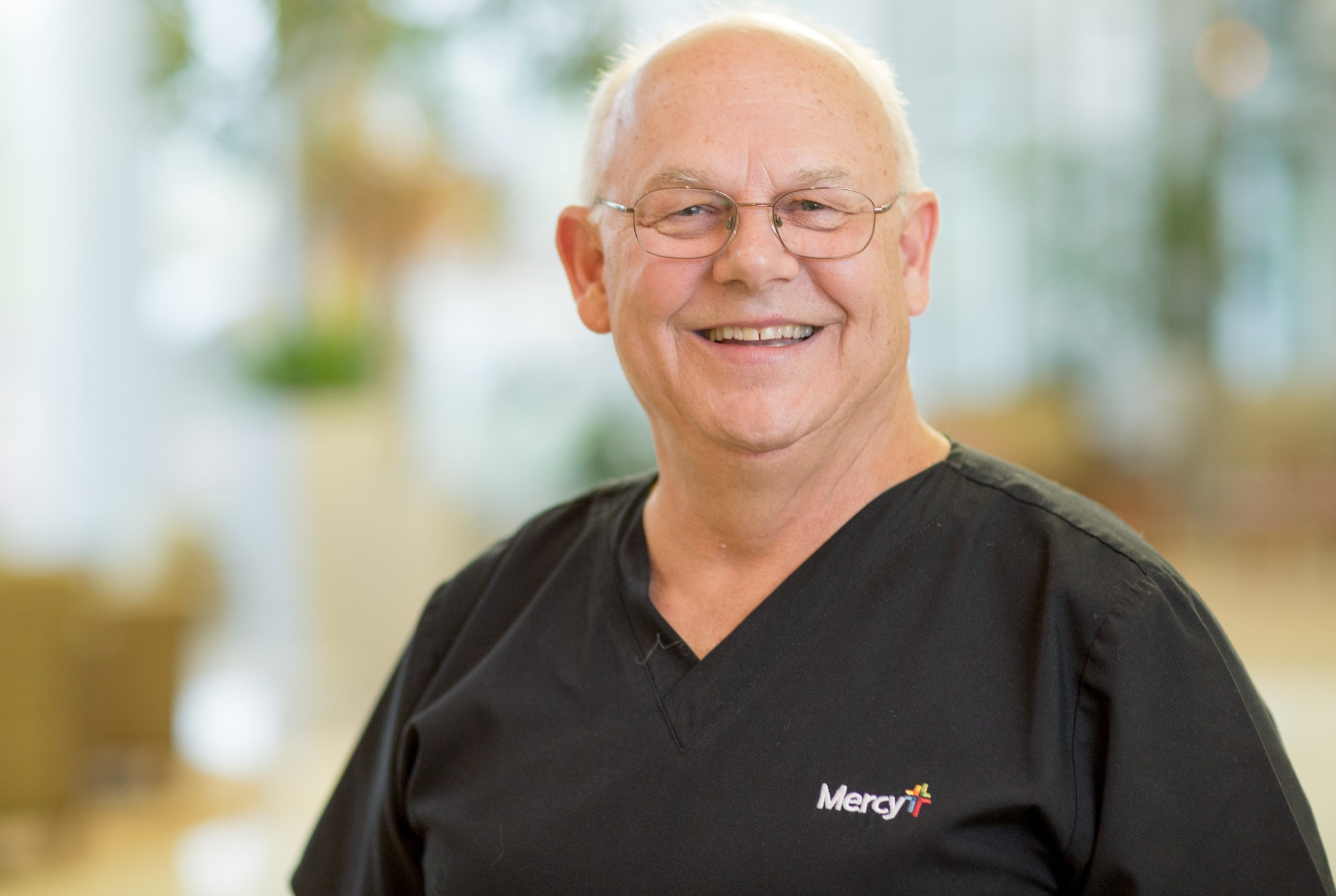 Tom Kane is celebrating 50 years of service at Mercy Hospital St. Louis.