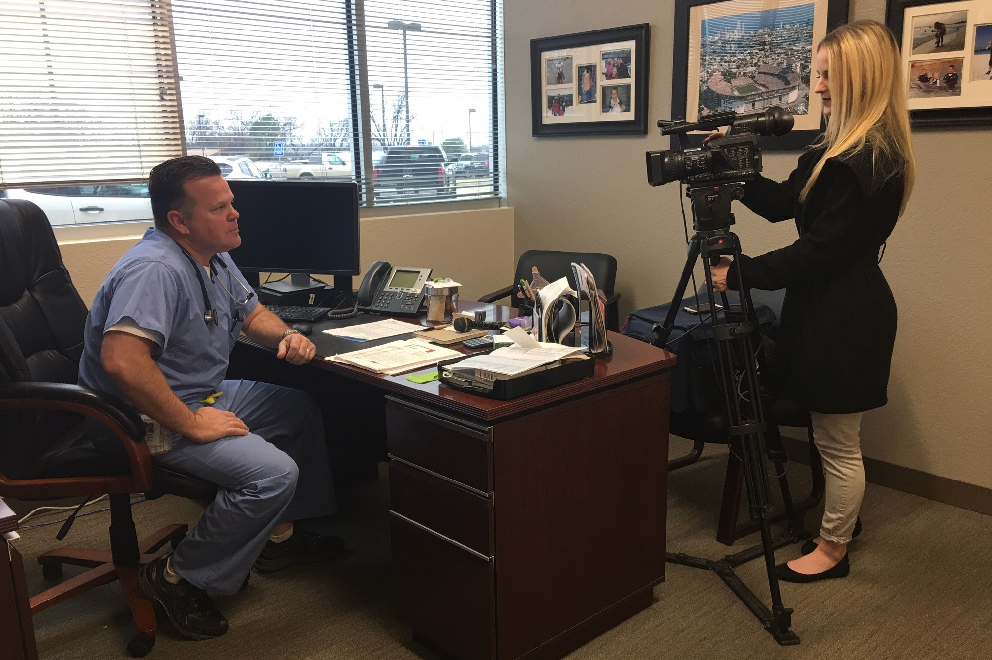 Dr. Derek Landis spoke to a reporter at KTEN about the new hours. To watch the story, click here.