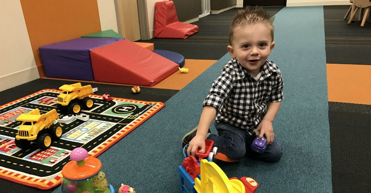 At just 20-months-old, little Levi, a patient of Dr. Jesse Campbell, has had RSV twice.