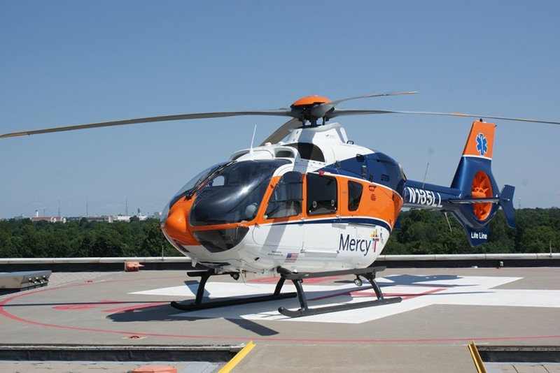 Mercy Life Line operates H135P2+ single pilot instrument flight rules (IFR) capable twin engine helicopters