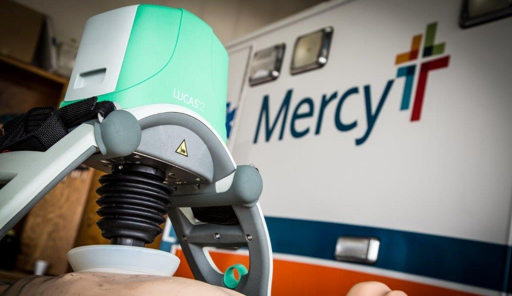 Donated by Mercy Health Foundation in 2015, all four Mercy ambulances in Ada and the emergency room at Mercy Hospital Ada are equipped with the device, which costs nearly $15,000.