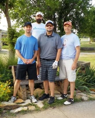1st Place ($300) with a score of 59 – Jeff Armstrong team