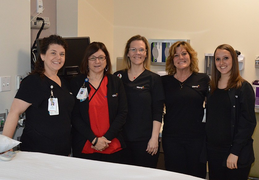 "Nurses on the Mother/Baby Unit will welcome visitors during the upcoming ""Baby Shower"" Open House."