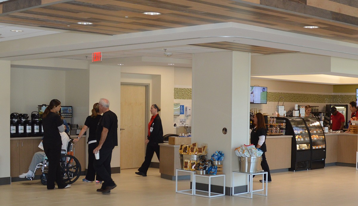Visitors can find coffees, bakery items and much more at the new Comfortable Cup Cafe.