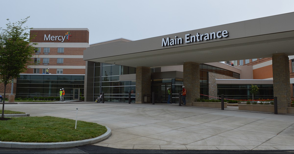 The new main entrance opened on June 5.