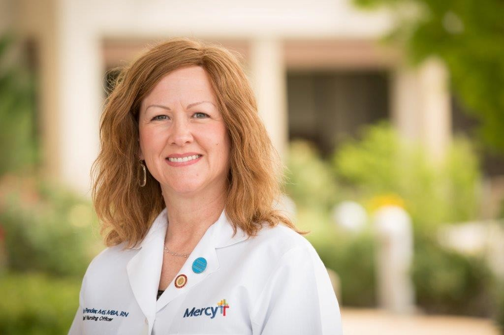 Debbie Pender has worked at Mercy Hospital in Ardmore for more than a decade.