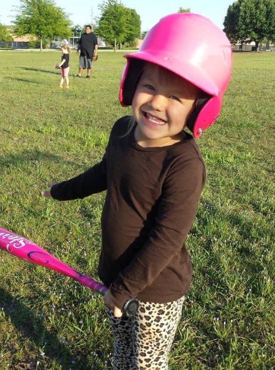 Four weeks after breaking her right collarbone last spring, 4-year-old Lily Shico had an X-ray at Mercy Hospital Ada, which confirmed her collarbone had healed and she was ready to return to playing T-ball.