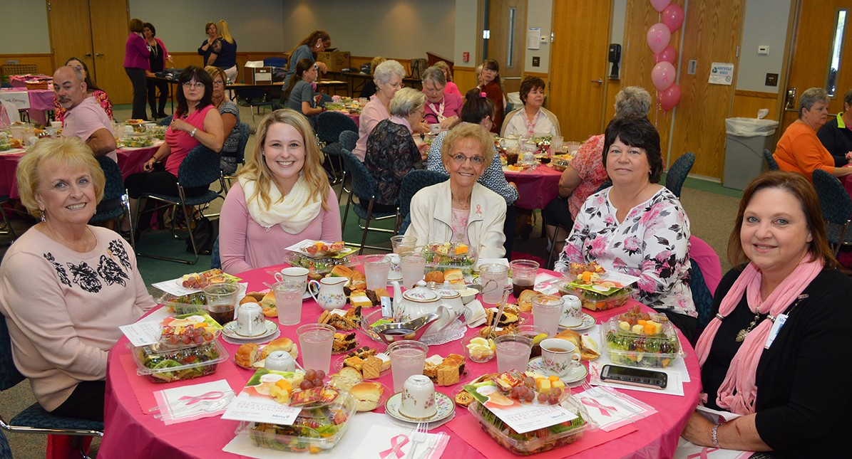 In addition to the tea party lunch like last year, breast cancer survivors and guests will be treated to a tour of the new cancer center this year as part of the program.