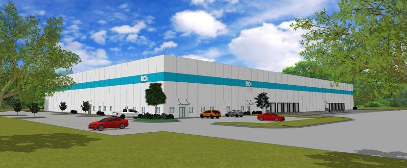 This is a rendering of ROi's new medical manufacturing facility in Republic, Missouri, which is set to open in fall 2017.