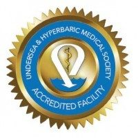 Accredited by the Undersea & Hyperbaric Medical Society